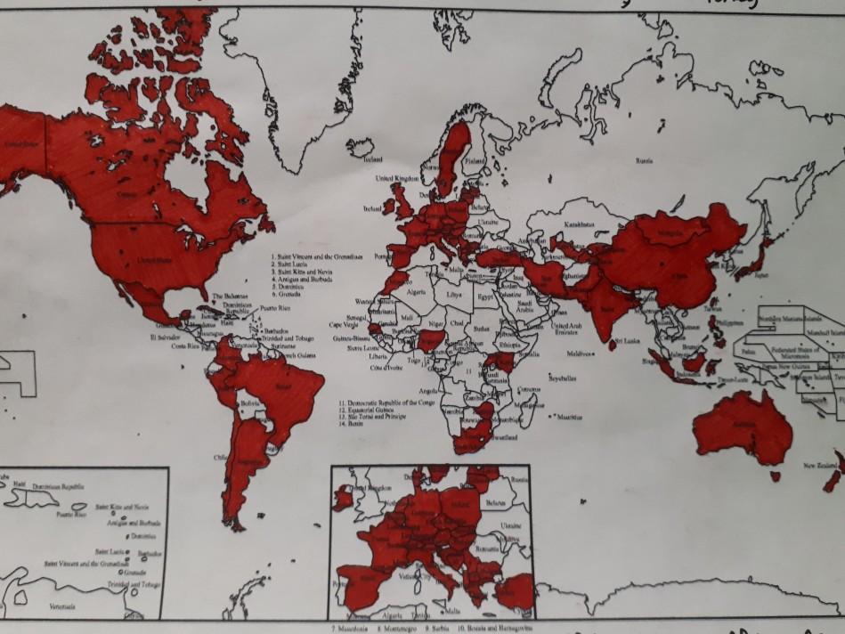IAP World Map